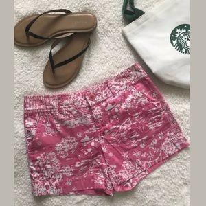 Lilly Pulitzer Callahan Skinny Dippin Shorts, Sz 0